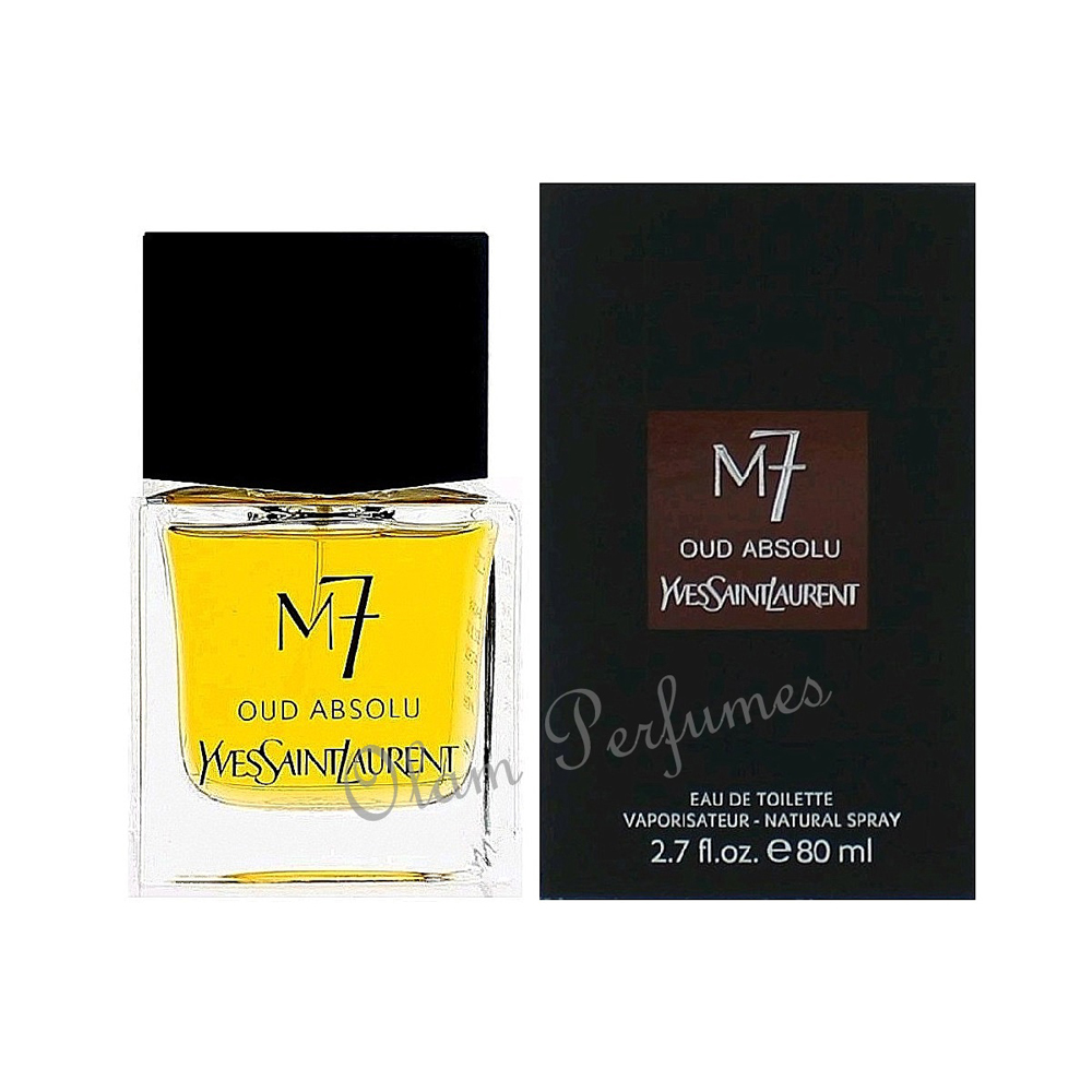 Yves Saint Laurent M7 Oud Absolu Eau de Toillete Spray 2.7oz